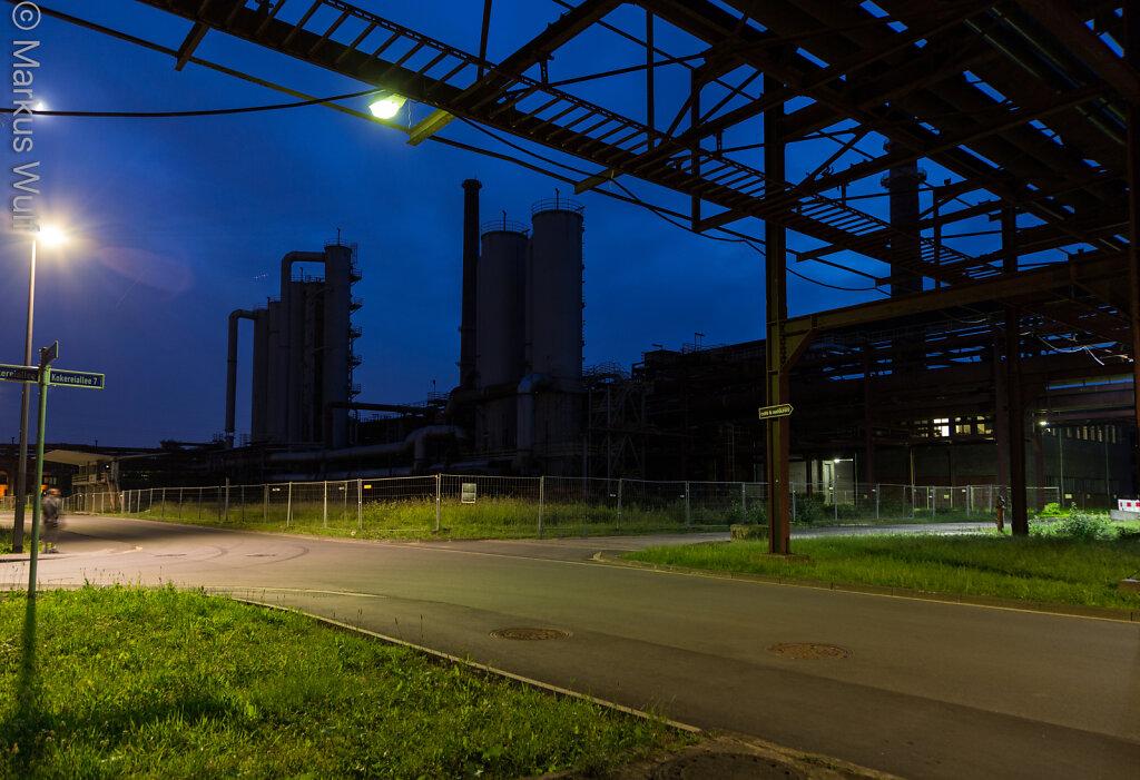 Abendstimmung auf Zollverein
