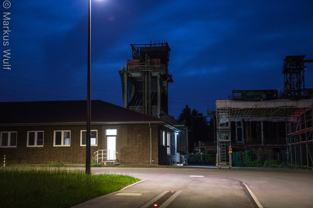 Blaue Stunde auf Zollverein