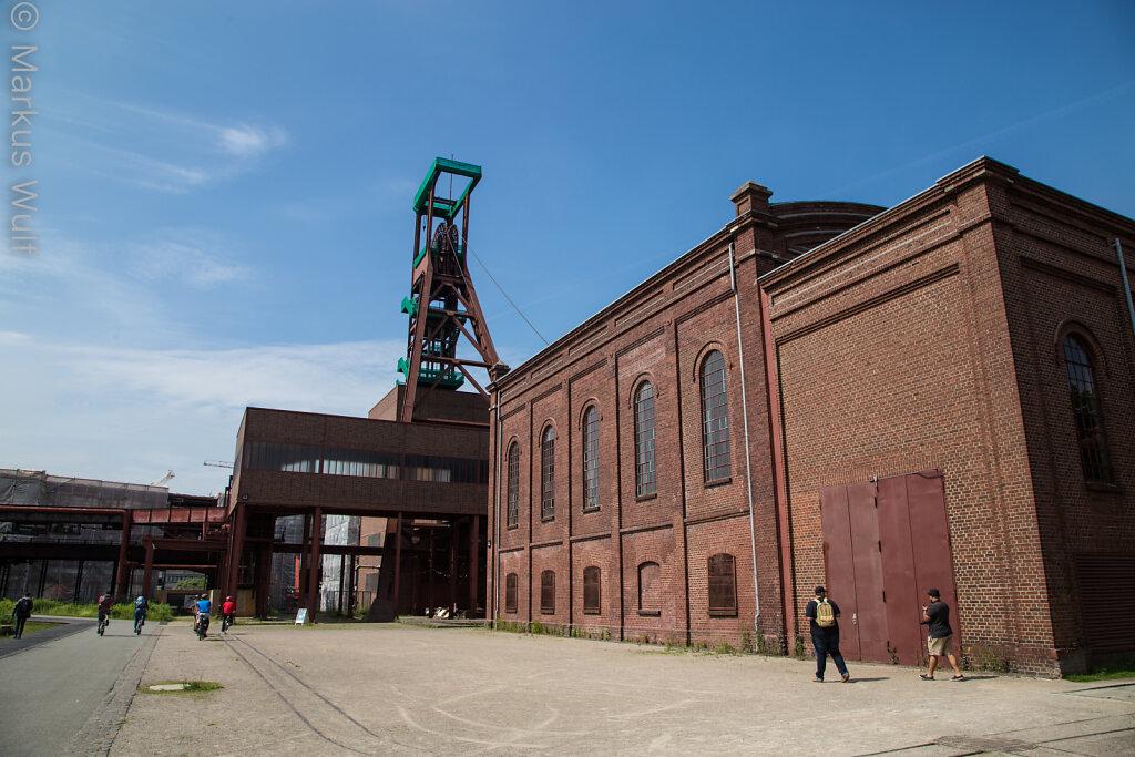 Historische Schachtanlage