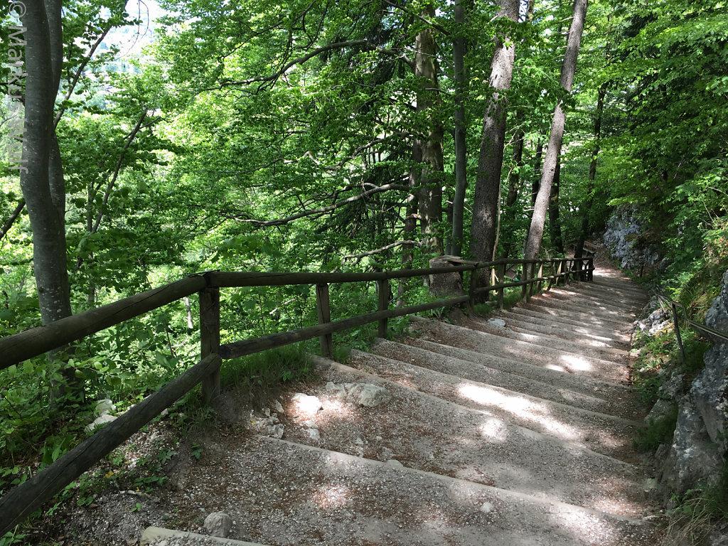 Treppen, Treppen und noch mal Treppen
