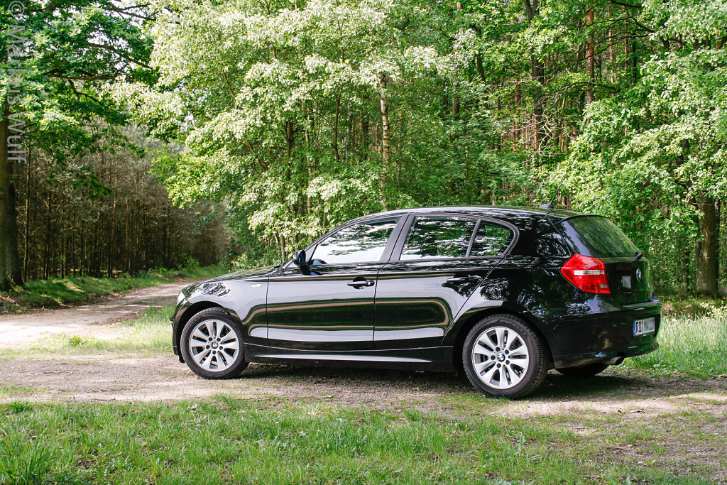 BMW 118d on tour