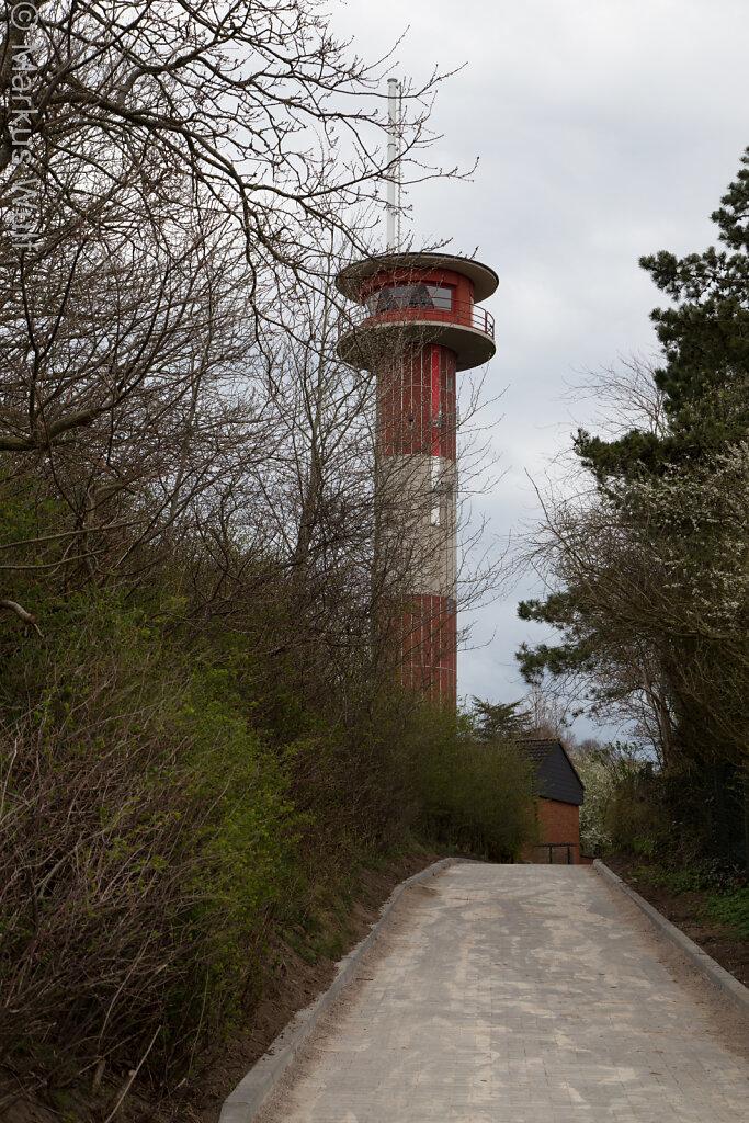 Turm, leucht, einfach